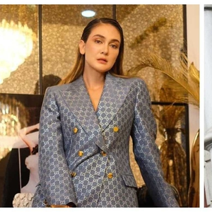 Gaya Luna Maya & Patricia Gouw Saat Hadiri Press Conference Indonesia's Next Top Model