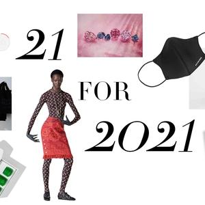 21 for 2021: 21 Hal Terdepan untuk Anda Simak di 2021