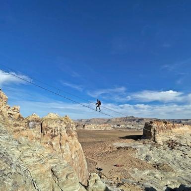 Cave Peak Stairway, Tangga Aerial Terpanjang dari Amangiri Bagi Pencinta Aktivitas Ekstrem