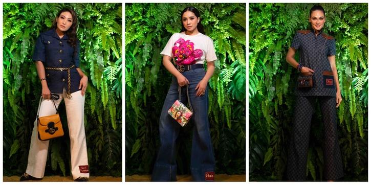 Lihat Penampilan Luna Maya, Nagita Slavina, dan Ayu Dewi Ketika Menghadiri Preview Koleksi Ulang Tahun Gucci yang ke-100 Tahun