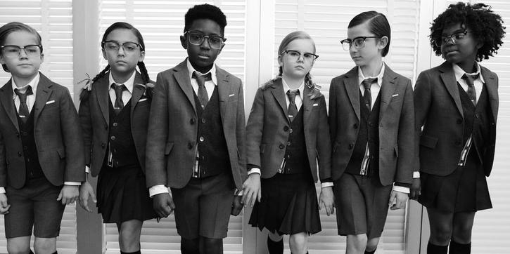 Thom Browne Keluarkan Lini Pakaian Anak-Anak Dengan Tema Preppy