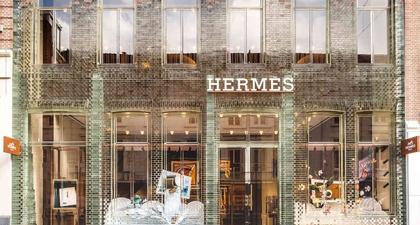 Mengunjungi Butik Terbaru Hermès di Amsterdam