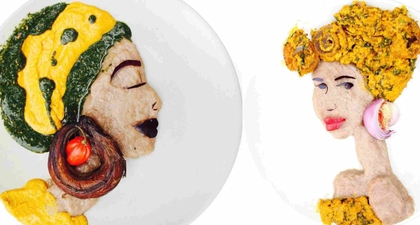 Makanan Dengan Sentuhan Seni