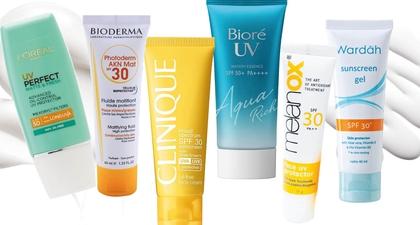 10 Sunblock yang Bagus untuk Kulit Berminyak