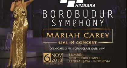 BOROBUDUR SYMPHONY - MARIAH CAREY