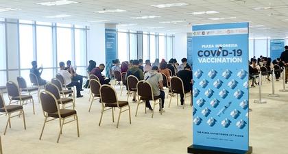 Plaza Indonesia Umumkan Seluruh Staf dan Karyawan Telah Divaksin Covid-19