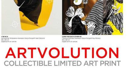Miliki Artwork Edisi Terbatas Persembahan Seniman Ternama