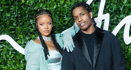A$AP Rocky Akui Sangat Beruntung Memiliki Rihanna dalam Kehidupannya