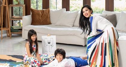 The Fashionable Life: Keceriaan Winda Malika Siregar dan Si Kembar