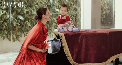 The Fashionable Life: Menjadi Ibu ala Paula Verhoeven Wong