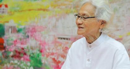 Teruntuk Sang Ibu Kota, Srihadi Soedarsono Mendedikasikan Lukisan Terbarunya