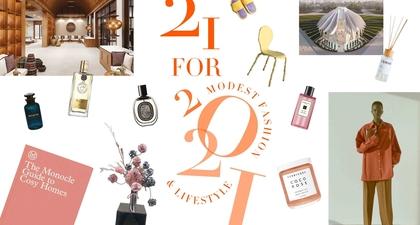 21 FOR 2021: Menyimak 21 Hal Terkini dalam Modest Fashion & Lifestyle