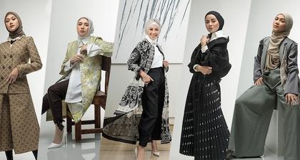 Olla Ramlan, Sarah Sofyan, Dewi Ivo Rajasa, Tenri Pawelangi, & Indah Nada Puspita Bergaya Dalam Balutan Modest Wear