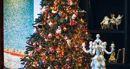 Natal Klasik ala Sebastian Gunawan