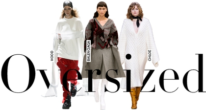 A - Z Tren Fashion 2016 - Oversize
