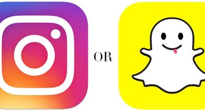 Instagram Stories atau Snapchat?