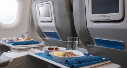 Siasat Makan Sehat Selama di Pesawat