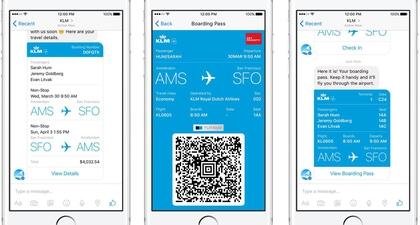 Kolaborasi Facebook dengan KLM