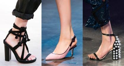 3 Jenis Heels yang Tren di Spring/Summer 2016