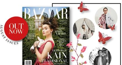 Harper's Bazaar Indonesia edisi Agustus 2016