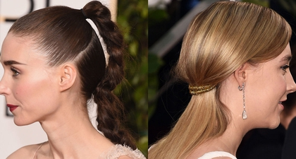 Model Rambut Kepang Ala Golden Globe