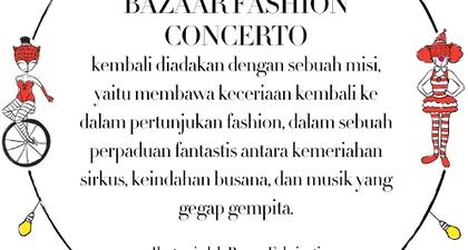 BAZAAR FASHION CONCERTO 2013