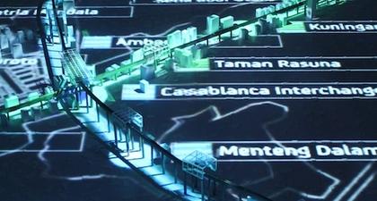 Pameran Monorail di Jakarta