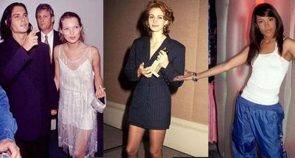 Tips OOTD Gaya '90-an dari Selebriti Hollywood
