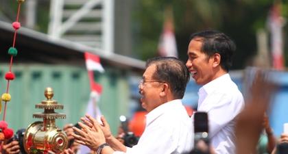 Selamat Kepada Presiden dan Wapres RI Ke-7, Ir. H. Joko Widodo dan Drs. H. Muh. Jusuf Kalla