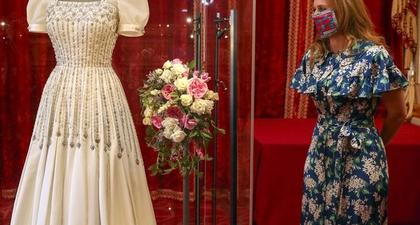 Gaun Pernikahan Putri Beatrice Dipamerkan di Istana Windsor