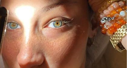Bella Hadid Bagikan Momen Menawannya Tanpa Makeup