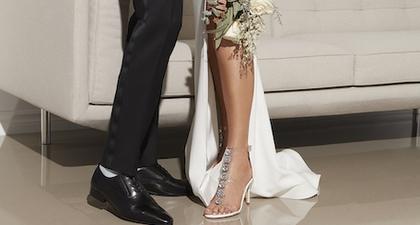 Ide Sepatu Pengantin Wanita untuk Beragam Konsep Pernikahan