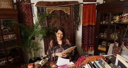 Asian Bohemian Chic: Cerita 40 Tahun Karier Ghea Panggabean