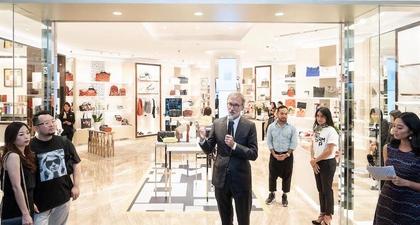 Mengintip Butik Baru Longchamp di Plaza Indonesia