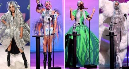 Parade Penampilan Lady Gaga di Acara MTV VMA 2020