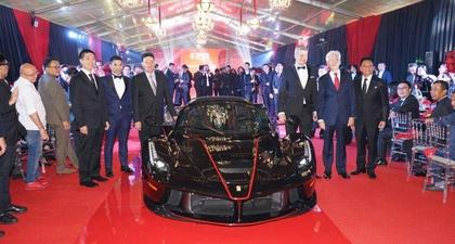 Ferrari Rayakan Ulang Tahun ke-70