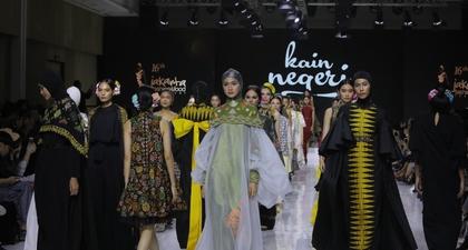 Pesona Kain Negeri Olahan Desainer IPMI di JFFF 2019