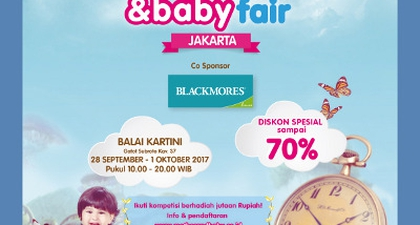 Mother And Baby Fair Jakarta