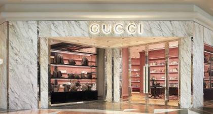 Butik Gucci Dibuka Kembali di Plaza Senayan