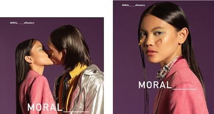 Moral Mendaulat Model Laras Sekar di Kampanye Terbaru