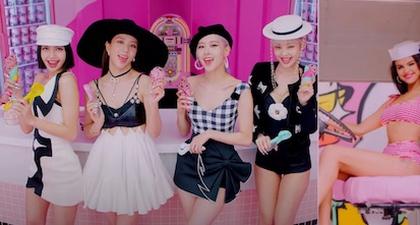 Semua Busana Cantik di Video Klip Blackpink & Selena Gomez