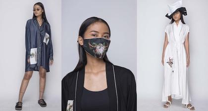 Purana Membuat Masker Hasil Kolaborasi Bersama Agan Harahap
