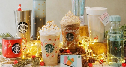 Kemasan Natal Terbaru dari Starbucks yang Menggemaskan