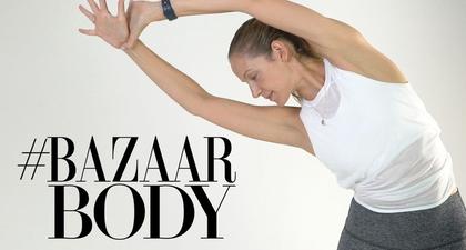 #BazaarBody: Latihan Kaki 5 menit