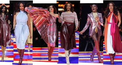 Selebrasi Momen Bersejarah di Fashion Show Tommy X Zendaya