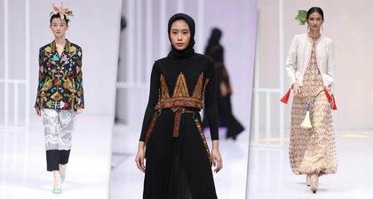 Indahnya Fashion Show Menggunakan Kain Nusantara di KKI 2019