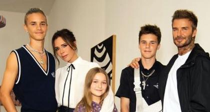Keluarga Beckham Tunjukkan Dukungan Kepada Victoria Beckham