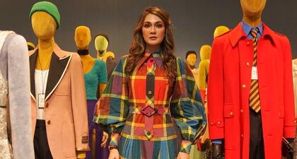 Luna Maya Menghadiri Presentasi Gucci S/S 2020 di Tokyo