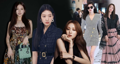15 Aktris Korea Fashionable yang Mengenakan Barang Branded