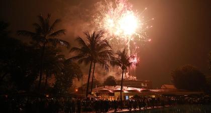 Merayakan Malam Tahun Baru di Hotel Borobudur